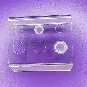 Clear Perspex Pigment Cup Holder