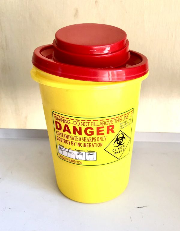 500ml Portable Sharps Container